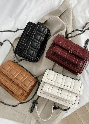 Сумка cross body в стиле zara