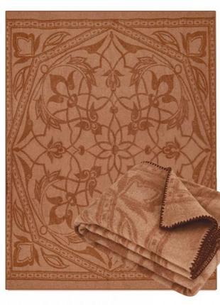 Одеяло из натуральной верблюжьей шерсти с принтом 170х205