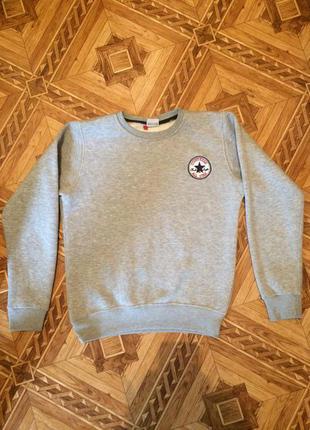 Крутая/стильная/кофта/пуловер/свитер converse