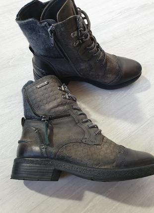 Кожаные ботинки bugatti