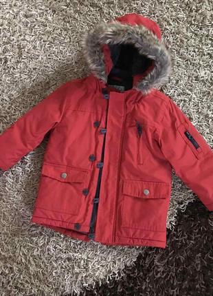 Куртка парка next 2-3 годика