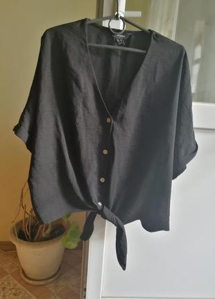 Блуза топ укороченный