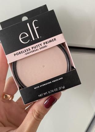 Elf poreless putty primer. праймер для кожи с расширенными порами.