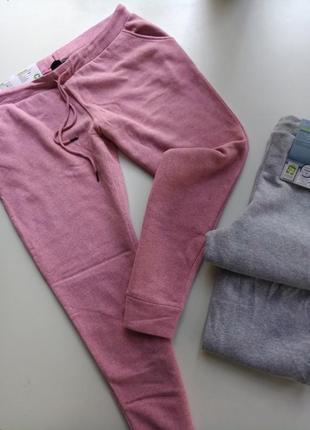 Теплие спортивние штани джогери от немецкого бренда esmara л