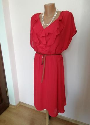 Красное большое платье/20/brend lands, end