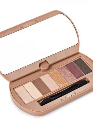Новые тени bourjois eye catching nude palette
