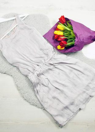 Wallis нежное струящееся платье под шел лилово-серебряного цвета!