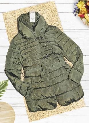 Новая зелёная куртка пальто fshvp by denim co