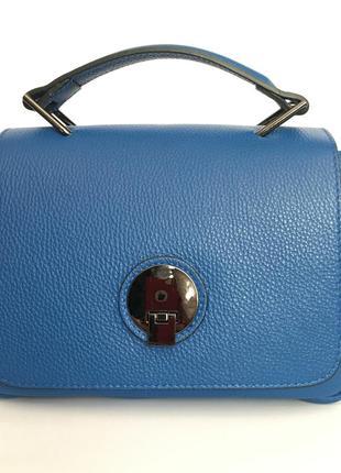 Шикарная сумочка, кожа, италия 3 цвета