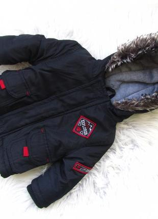 Стильная теплая куртка парка с капюшоном early days