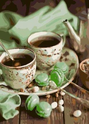 """Картина по номерах """"чаювання"""""""