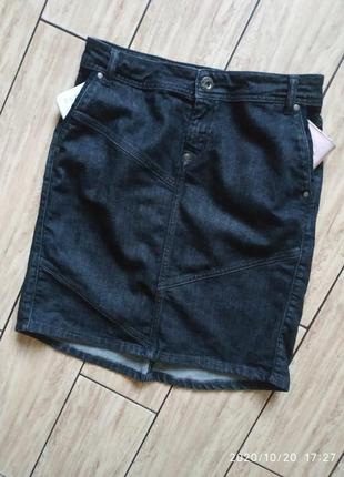 Джинсовая юбка юбочка котоновая