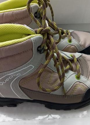 Ботинки спорт кечуа на мальчика, р.35
