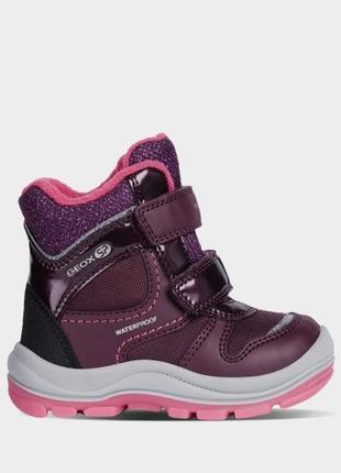 Идеальные зимние ботинки geox для модниц