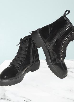 Новый кожаные ботинки new look