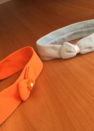 Солоха.повязки детские на голову. цена за пару.