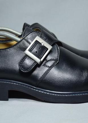 Fretz men туфли монки ботинки мужские кожаные. швейцария. оригинал. 43 р./28 см.