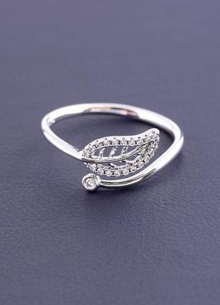 Кольцо 'xuping' фианит (родий) артикул 095135ск2