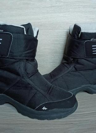 Зимние термо-ботинки quechua 36 размер