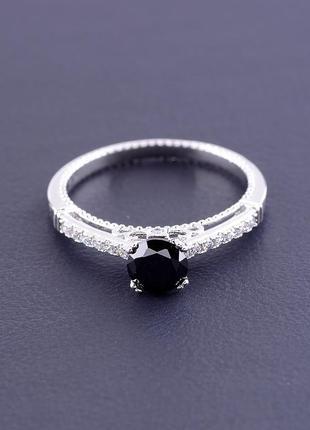 Кольцо 'xuping' фианит (родий) артикул 095133ск2