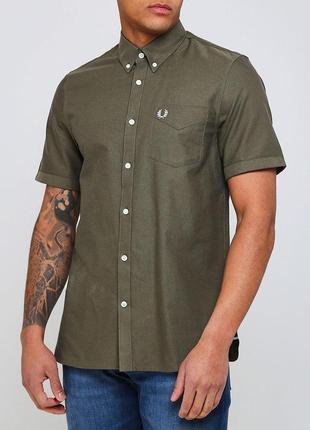 Оксфордская рубашка fred perry
