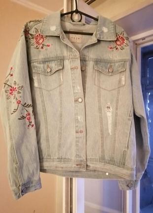 Куртка пиджак джинс