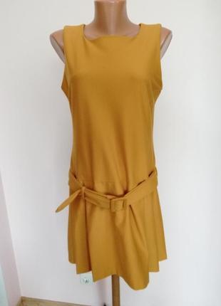 Теплое красивое стильное платье. /l/brend massimo dutti