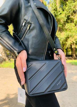 Сумка женская david jones черная (дэвид джонс, сумочка, клатч, кошелек)