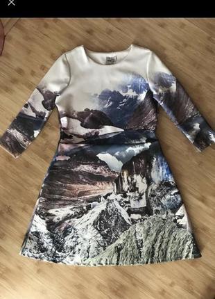 Платье туника юбка кофта реглан