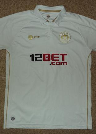 Футболка футбольного клуба wigan athletic, сезон 2011-12 г.