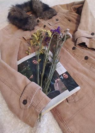 Актуальна курточка на болтах з теплим комірцем size s/m