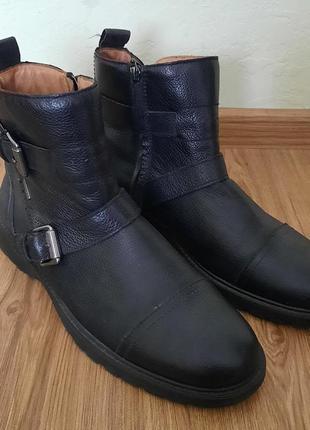 Кожаные ботинки,черевики,сапоги от geox amphibiox
