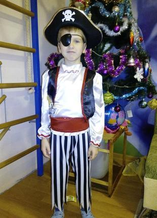 Новогодний костюм пирата/разбойника