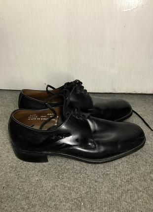 Кожанные туфли ботинки мужские savile row