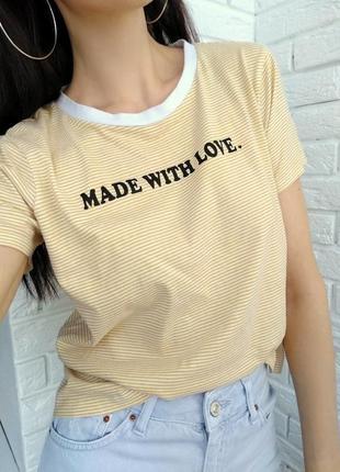 Крутая футболка в ретро стиле с надписью