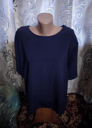 Лаконичная блуза на пышные формы hamells
