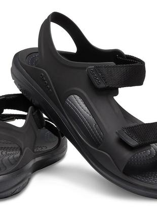 Сандалии crocs swiftwater expedition, w7, w8, w9
