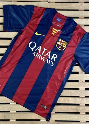 Крутая мужская футбольная футболка barselona messi размер м