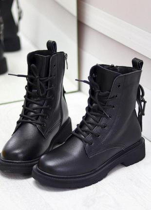 """Ботинки """"""""dc"""""""" натуральная кожа зимние"""