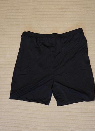 Эластичные шорты для фитнеса черного цвета shein  l. ( на рост 175 см)