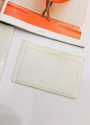 Emporio armani parfums брендовый кард холдер - кошелек для карточек кредиток