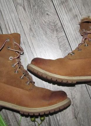 Timberland  оригинальные ботинки  р. 39 - 25см