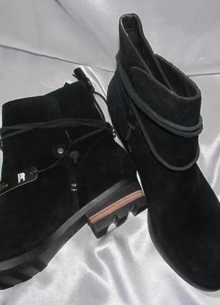 Sorel замшевые ботинки р.42 -28см