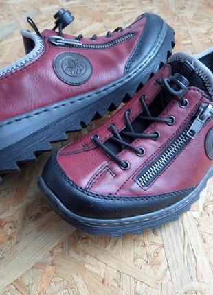Туфли-мокасины rieker antistress оригинал размер 37