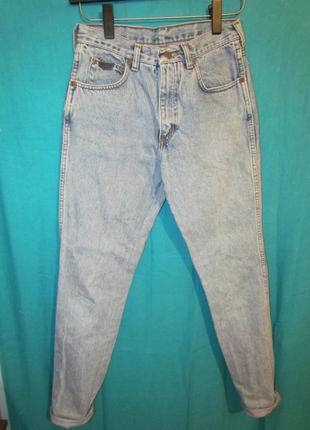 Бойфренды джинсы с высокой талией
