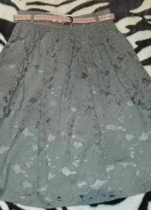 Классная ажурная юбка oodji