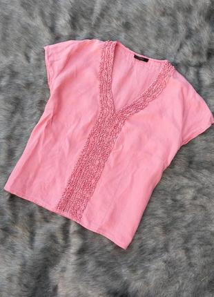 Блуза кофточка из 100% льна linea