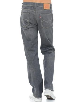 Оригинальные качественные джинсы levis 751 standart fit grey