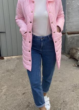 Розовая куртка , пальтишко