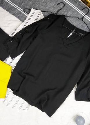 Блуза кофточка с v-образным вырезом river island